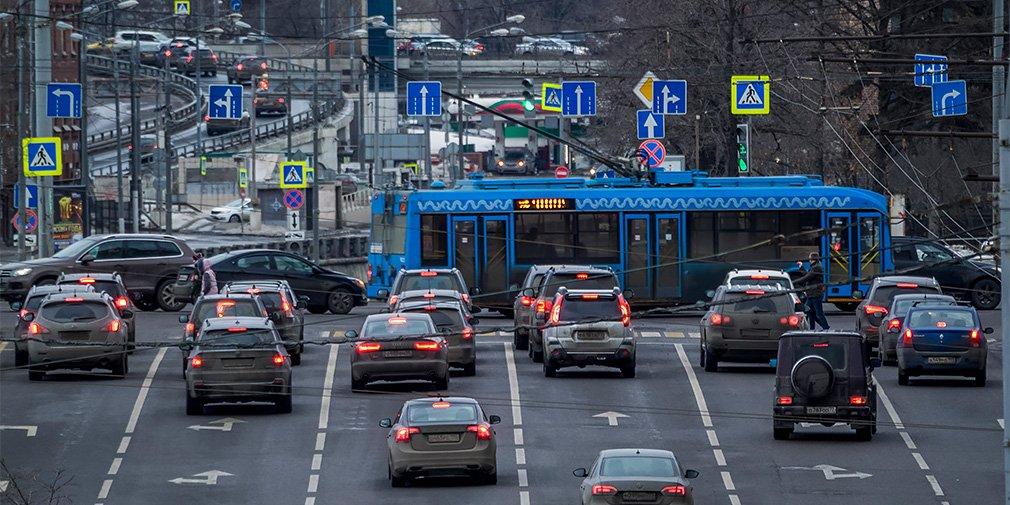 В Москве появятся экспериментальные перекрестки
