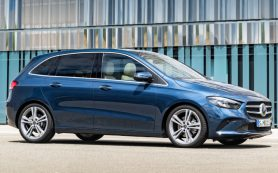 Новый минивэн Mercedes-Benz B-класса дебютировал в Париже