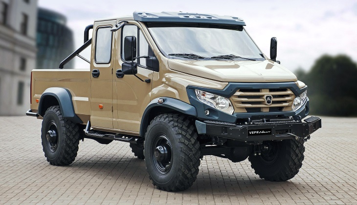 Уникальный вездеход «ГАЗ Вепрь Некст» выставили на продажу. Цена впечатляет