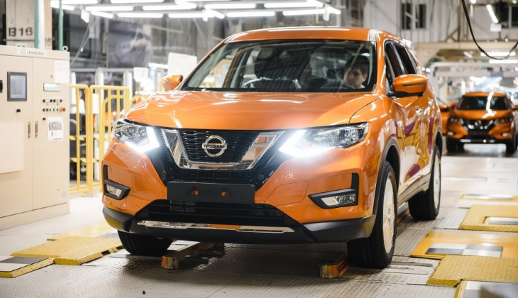Обновлённый кроссовер Nissan X-Trail начали выпускать в России