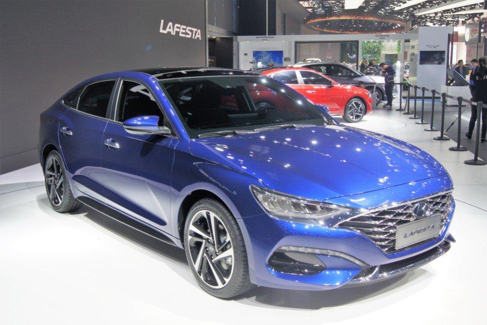 Новый седан Hyundai Lafesta запущен в серийное производство
