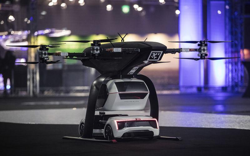 Audi тестирует летающее такси