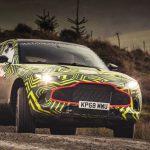 Кроссовер Aston Martin DBX показался в обличье прототипа