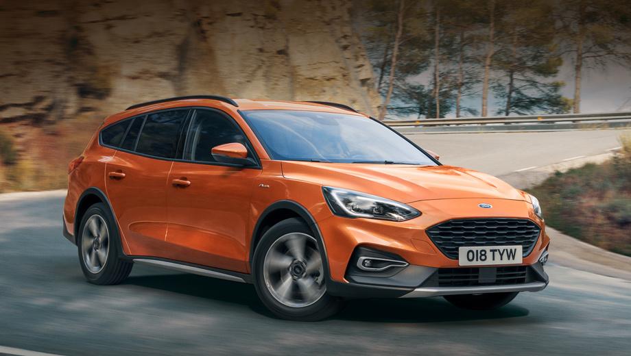 Семейство Ford Focus в Европе пополнил универсал Active Wagon