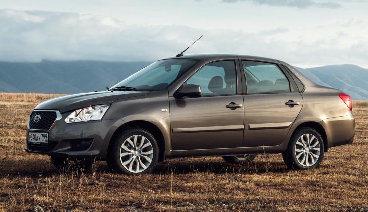 Седан Datsun on-DO подорожал на 5 тысяч рублей