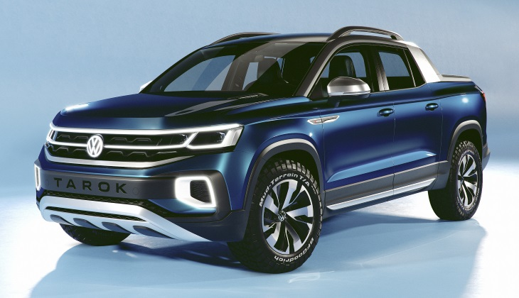 Volkswagen выпустит пикап на базе «Тигуана»