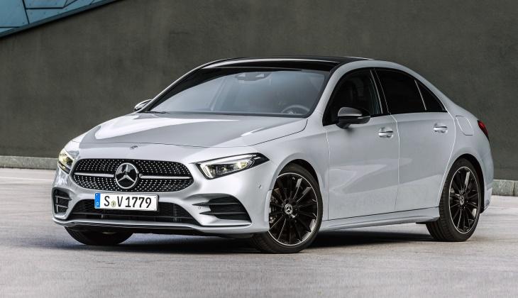 Объявлены рублёвые цены на новый седан Mercedes-Benz A-класса