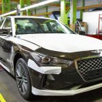В Калининграде начали выпускать спортивный седан Genesis G70