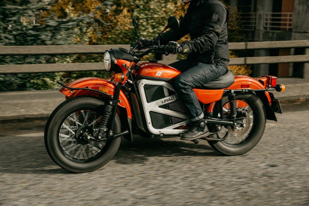 «Урал» показал электрический мотоцикл с коляской