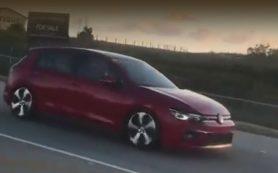 Хэтчбек Volkswagen Golf 8 засветился в Южной Африке