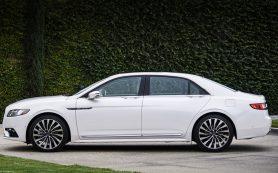 Седан Lincoln Continental откроет задние двери против хода