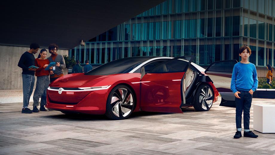 Марка Volkswagen собрала технологии в комплекс IQ.DRIVE