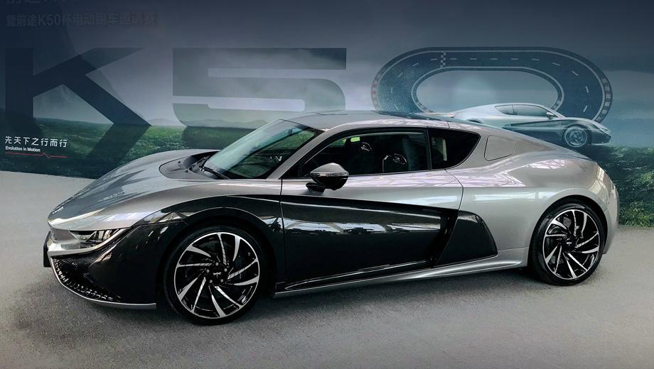 Китайский спорткар Qiantu K50 будет выпускаться в Америке