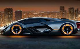 Новый гиперкар Lamborghini будет светиться в темноте