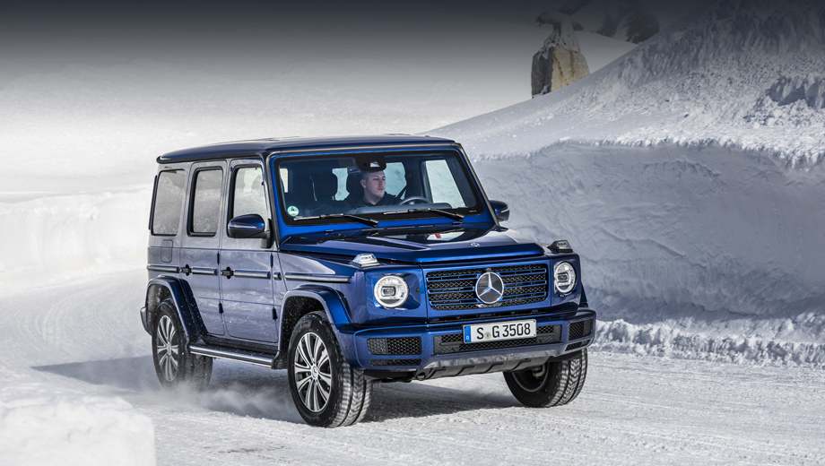 Дизельный Mercedes-Benz G 350 d прибудет к нам весной