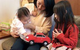 Honda придумала игрушку со звуком мотора суперкара для успокоения детей