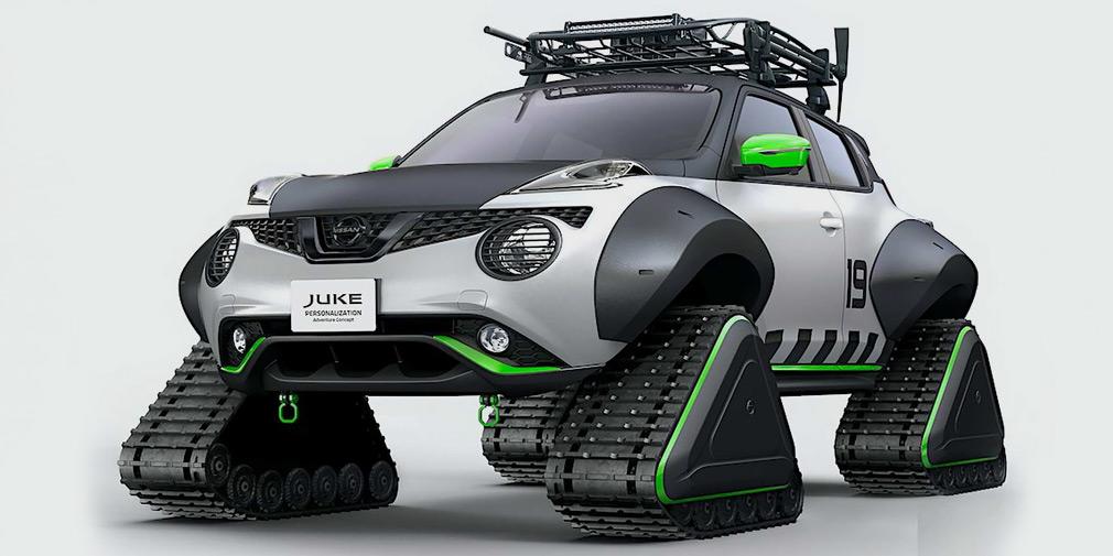 Nissan разработал еще один Juke на гусеничной тяге