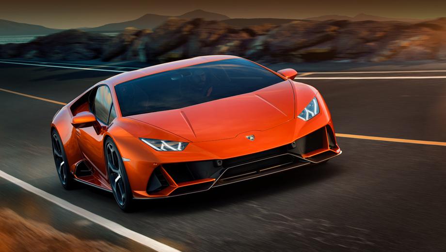 Купе Lamborghini Huracan EVO получило полноуправляемое шасси