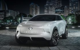 Концепт Infiniti QX Inspiration напомнил о прототипе Nissan IMx