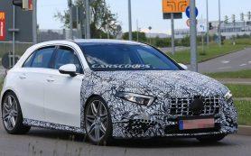 Названа мощность самого быстрого Mercedes A-Class нового поколения