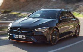 Новый Mercedes-Benz CLA рассекретили до премьеры