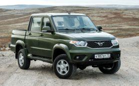 УАЗ стал самым продаваемым пикапом в России