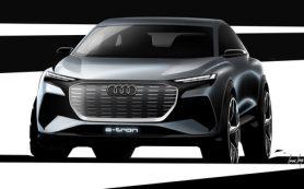 Audi готовится к премьере нового кроссовера Q4 e-tron