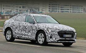 Кроссовер Audi e-tron Sportback упростился на пути к серии