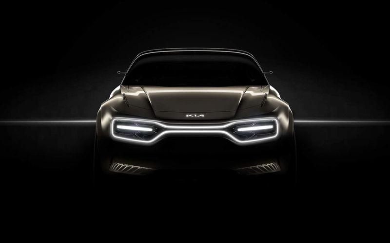 Kia подготовила к премьере новый автомобиль