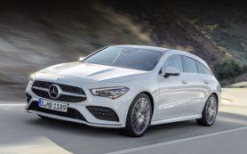 Модель Mercedes-Benz CLA Shooting Brake стала практичнее