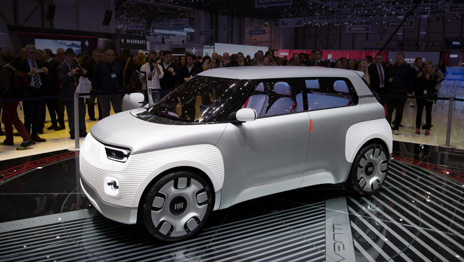 Хэтч Fiat Concept Centoventi принёс идею дешёвого электрокара