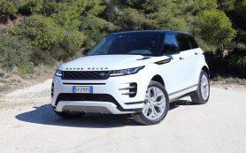 Как новый Range Rover Evoque показал себя на дорогах Греции