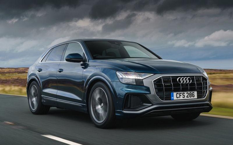 Audi Q8 уже попал под отзыв
