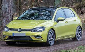 Весеннее обнажение: раскрыта внешность нового VW Golf