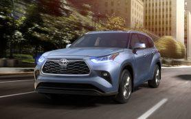 Toyota Highlander переехал на новую платформу, подрос и лишился базового мотора