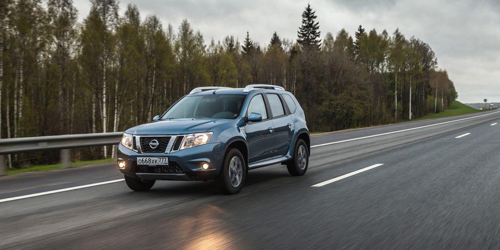 Nissan отзовет кроссоверы Terrano в России из-за неисправных тормозов