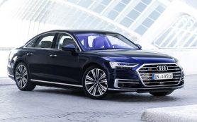 Специально для России: начались продажи дизельной версии седана Audi A8