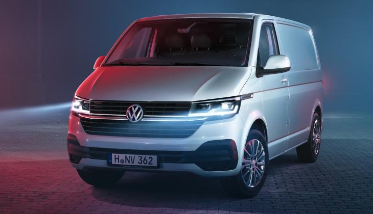 Представлен обновлённый Volkswagen Transporter. Теперь он может быть электромобилем