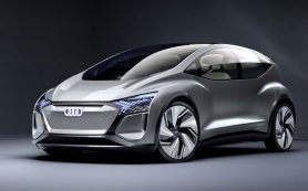 Представлен концепт Audi AI:ME с автопилотом и комнатными растениями в салоне