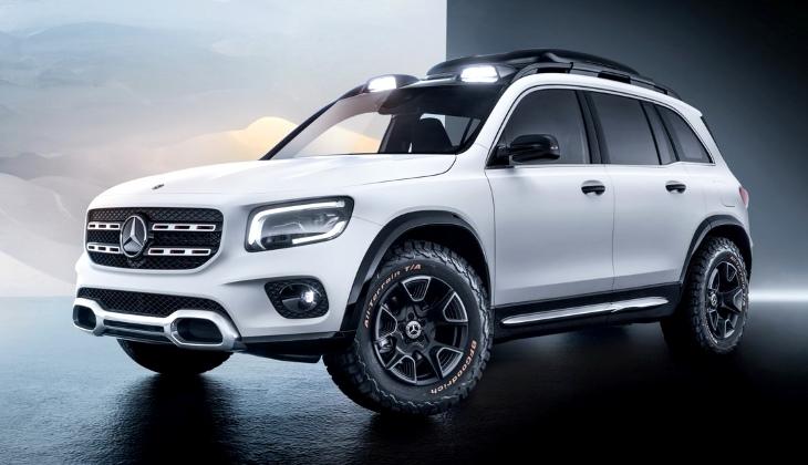 Кроссовер Mercedes-Benz GLB станет серийным в 2020 году