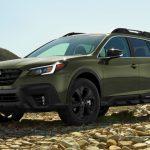 Новое поколение универсала Subaru Outback дебютировало в США