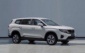 Новая модель Geely: не минивэн, а кроссовер, в соперниках – Toyota Highlander