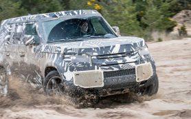 Land Rover рассказал об экстремальных испытаниях нового Defender