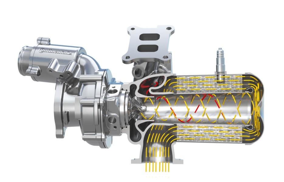 Евро-номы заставили: Continental объединил турбокомпрессор и катализатор