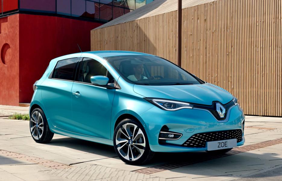 Обновлённый Renault Zoe: 390 км на одной зарядке и наконец-то дисковые тормоза!