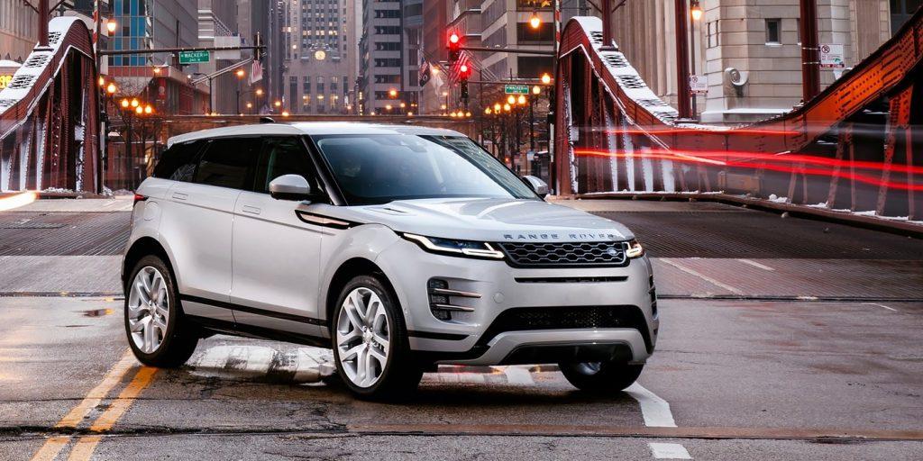 Range Rover начал российские продажи нового Evoque