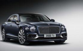Bentley представил новый Flying Spur