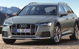 Компания Audi показала универсал A6 Allroad нового поколения