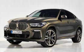 Кроссовер BMW X6 нового поколения получил светящуюся решётку радиатора
