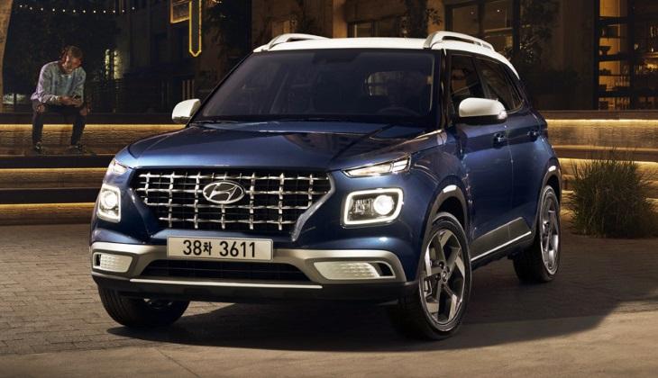 Компания Hyundai представила корейскую версию кроссовера Venue